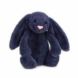 "Bashful Bunny Navy 12"""