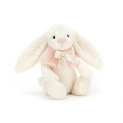 Bashful Snow Bunny Cream 7""
