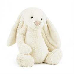 Bashful Bunny Cream 21""
