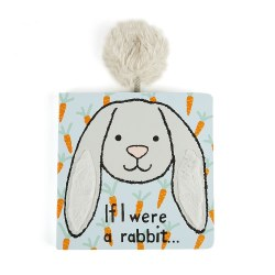 If I Were a Rabbit Board Book- Grey