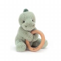 "Shooshu Dino Wooden Ring 6"""