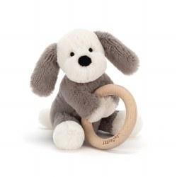 Shooshu Puppy Wooden Ring