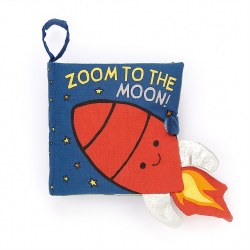 Zoom To The Moon! Soft Book