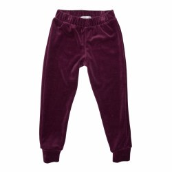 Andie Velour Jogger-Berry 6