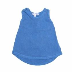 Cassie Twist Tank Blue 3