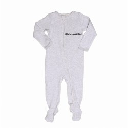 Good Human Footie Grey 3M