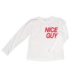 Maddox Nice Guy Tee White 10