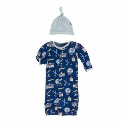 Education Gown & Hat 0-3M