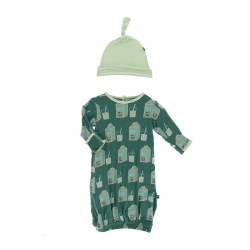 Milk Hat & Gown 0-3M