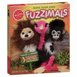 Klutz Make Your Own Fuzzimals Safari