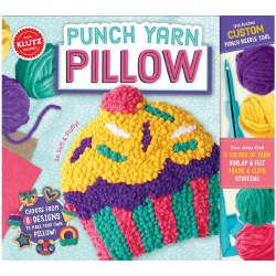 Klutz Punch Yarn Pillow