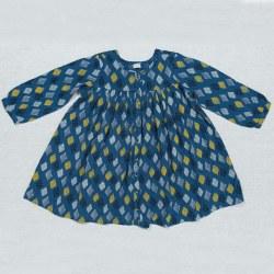 Cleo Dress Blue Diamond 3