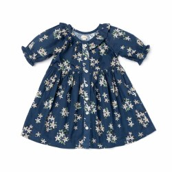 Ivy Dress Navy Jasmine 6