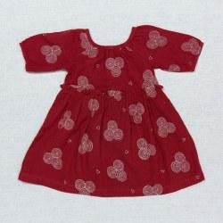 Mallory Dress Garnet Emb 4