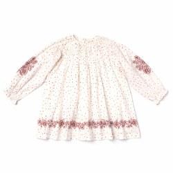 Tulip Dress Emb Dot Print 6