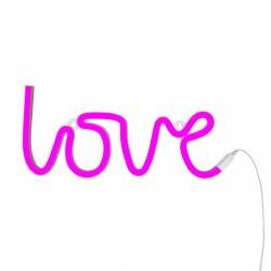 Neon Style Light- Love Pink