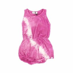 Pink Light Tie Dye Romp 12-18M