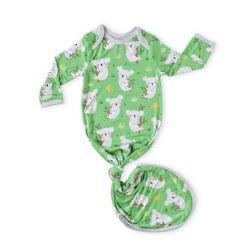 Koalas Knot Gown Green