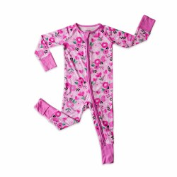 Sweetheart Floral Zippy 0-3M