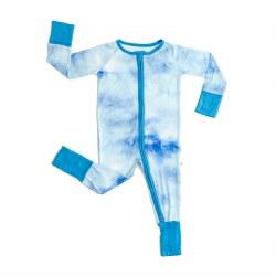 Blue Watercolor Zippy 0-3M
