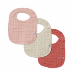 Bib 3 Pack- Rose Petal