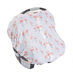 Car Seat Canopy- Pink Ladies
