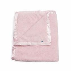 Chenille Plush Blanket Pink