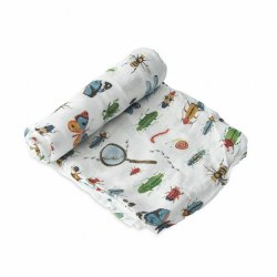 Deluxe Swaddle- Bugs