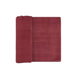 Deluxe Swaddle- Dusty Maroon