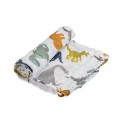 Muslin Swaddle- Dino Friends