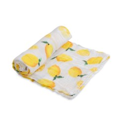 Muslin Swaddle- Lemon Drop