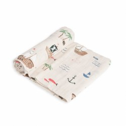 Muslin Swaddle- Treasure Map