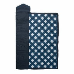 Outdoor Blanket Navy Plaid