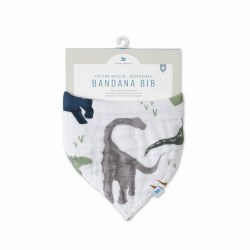 Reversible Bandana Bib Dino Friends
