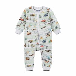 Explore Relaxed Fit Romper NB