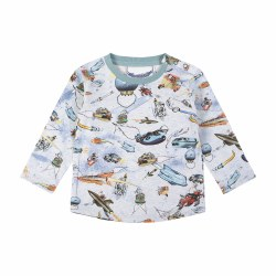 Future City LS Baby Tee 6M