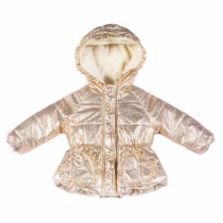 Puffer Baby Jacket Gold 3M