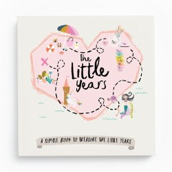 The Little Years Toddler Memory Book- Girl