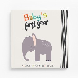 Baby's First Year Little Animal Lover Memory Book