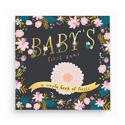 Baby's First Year Golden Blossom Memory Book