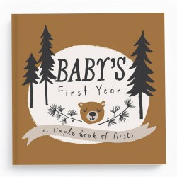 Baby's First Year Little Camper Memory Book