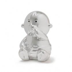 Balloon Bank Baby Silver