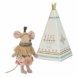 Little Feather Mouse & Teepee