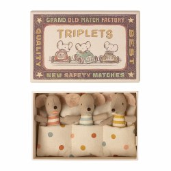 Matchbox Mouse Baby Triplets