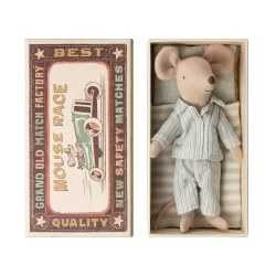 Matchbox Mouse Big Brother in Striped PJs