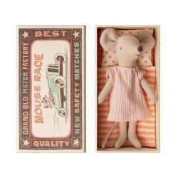Matchbox Mouse Big Sister in Striped PJs