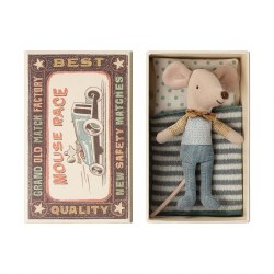 Matchbox Mouse Little Brother in Bow Tie