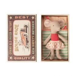 Matchbox Mouse Little Sister in Polka Dot Skirt