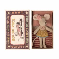 Matchbox Mouse Little Sister in Gold Skirt