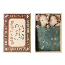 Matchbox Mouse Baby Twins Floral